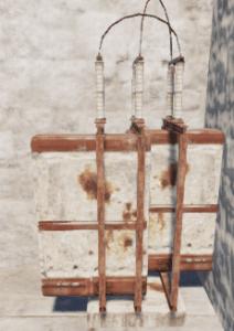 Большой аккумулятор на полу в Rust
