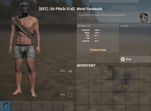 Железная маска в Rust
