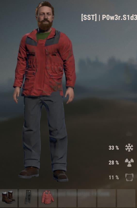Зимняя одежда в Rust