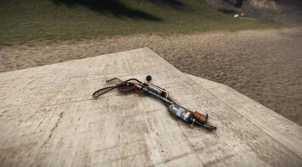 Огнемёт в Rust