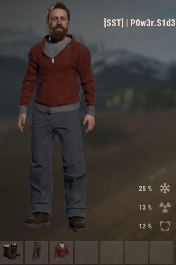 Повседневная одежда в Rust