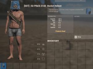 Шлем из ведра в Rust