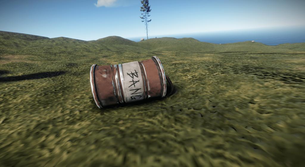 Бобовая граната в Rust