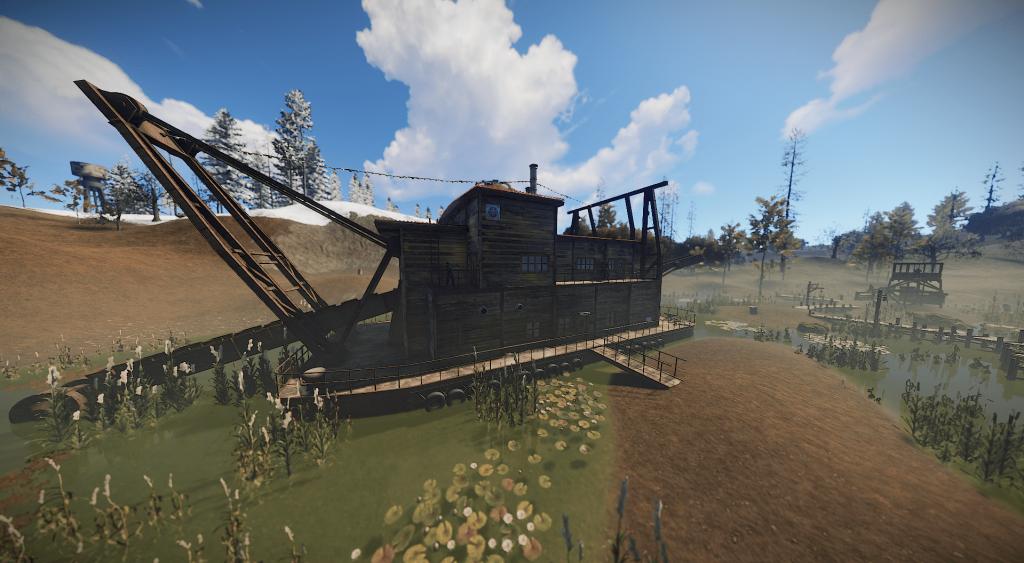 Здание казино в Rust