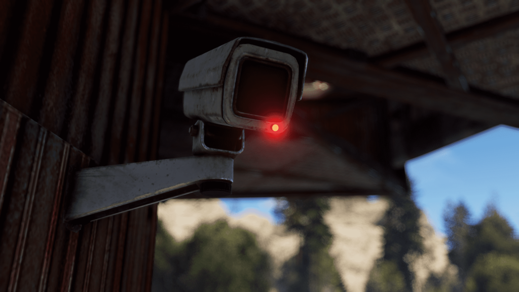Камера видеонаблюдения в Rust