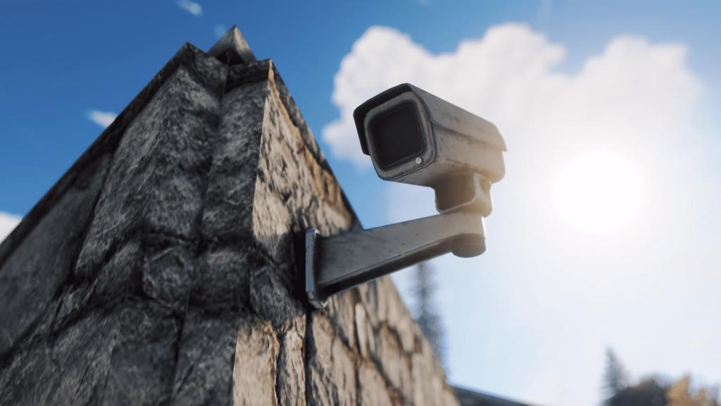 Камера на доме в Rust