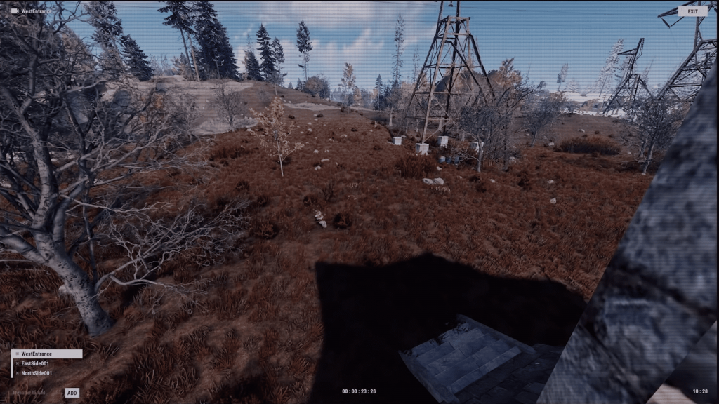 Обзор от лица камеры в Rust