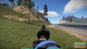 Прицел револьвера в Rust