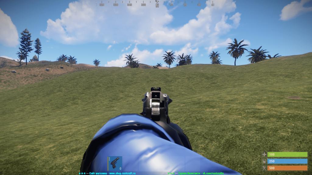 Стандартный прицел M92 в Rust