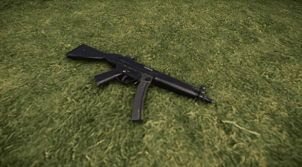 MP5A4 в Rust