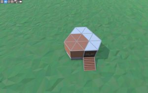 Бюджетный дом для соло игрока в Rust