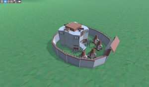 Дом для соло игрока с большой печкой