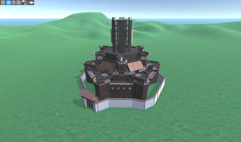 Клановая МВК крепость