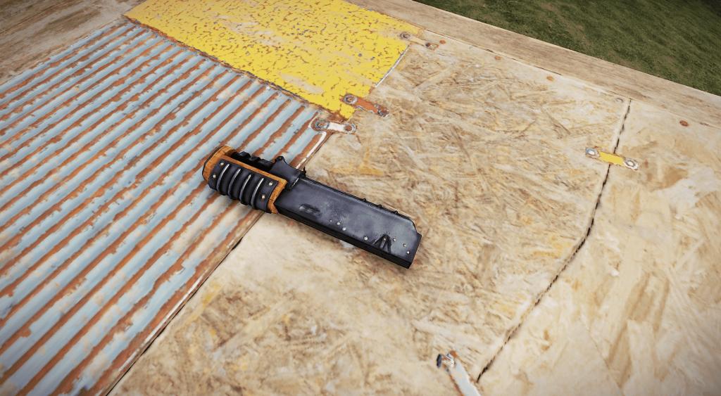 Корпус винтовки в Rust
