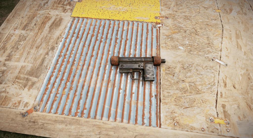 Корпус пистолета-пулемёта в Rust