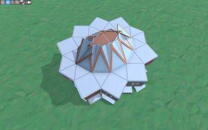 Крыша дома для 2 игроков