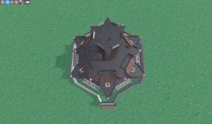 Крыша клановой крепости