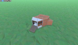 Металлический бункер для соло игрока