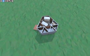 1 этаж бюджетного дома для соло игрока в Rust