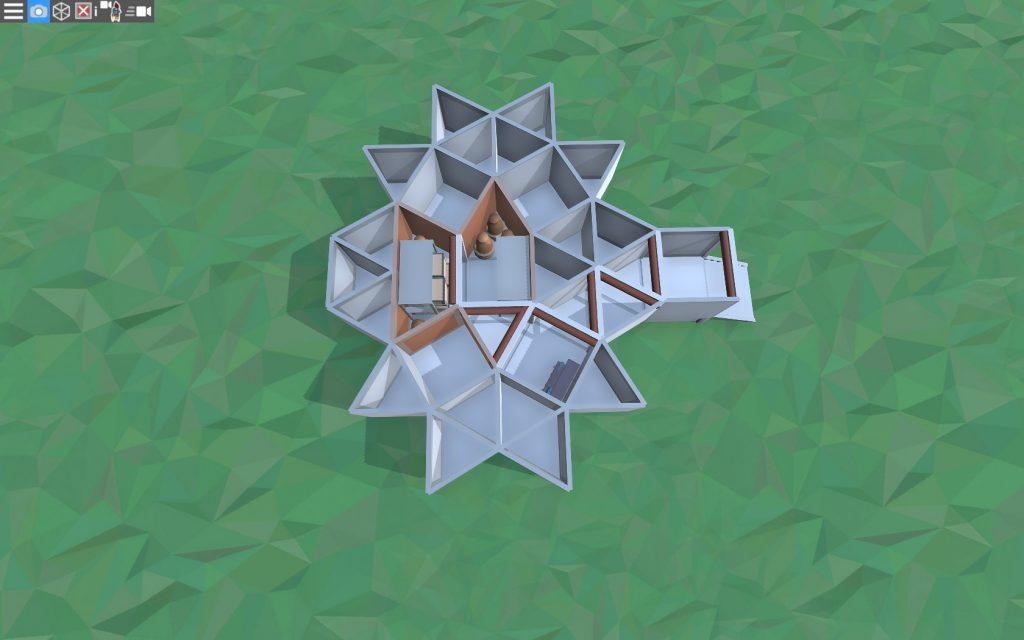 1 этаж дома для 1-2 игроков