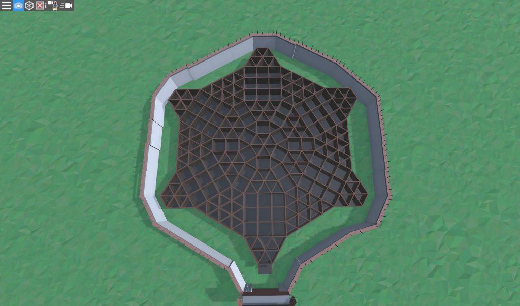 1 этаж клановой крепости