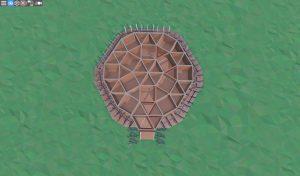 1 этаж металлического бункера