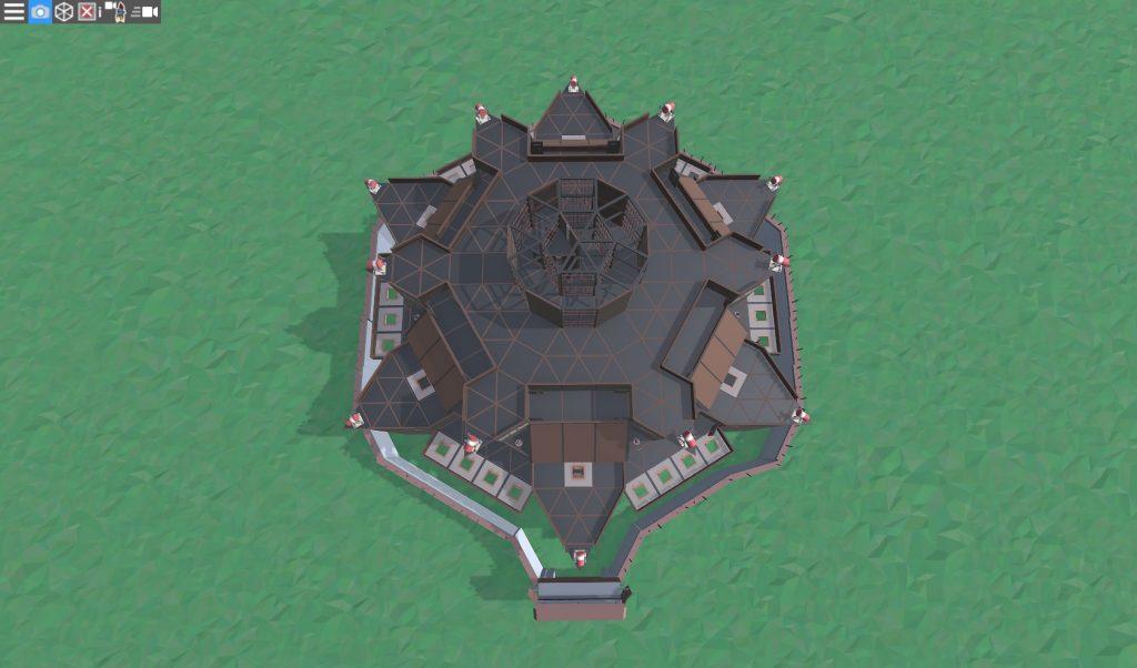 10 этаж клановой крепости