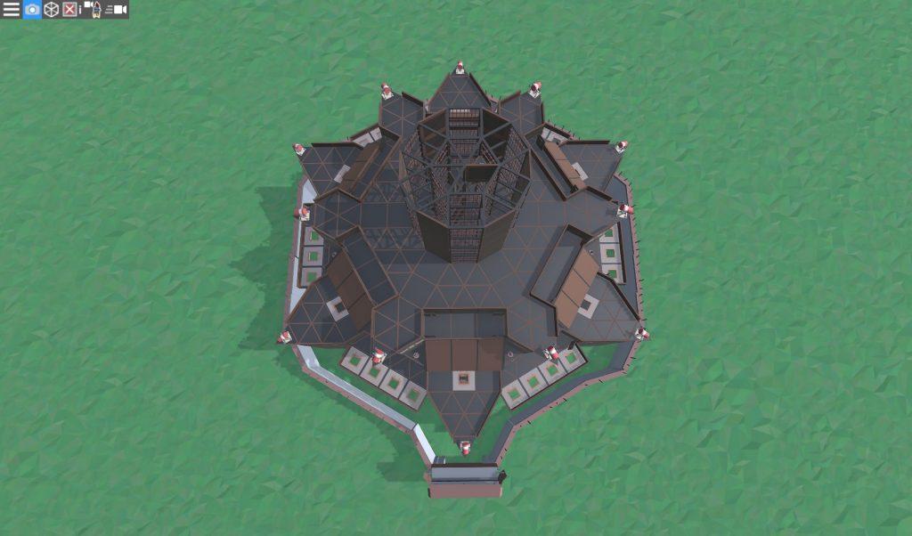 12 этаж клановой крепости
