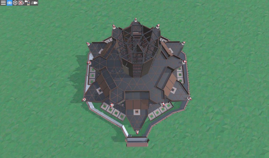13 этаж клановой крепости