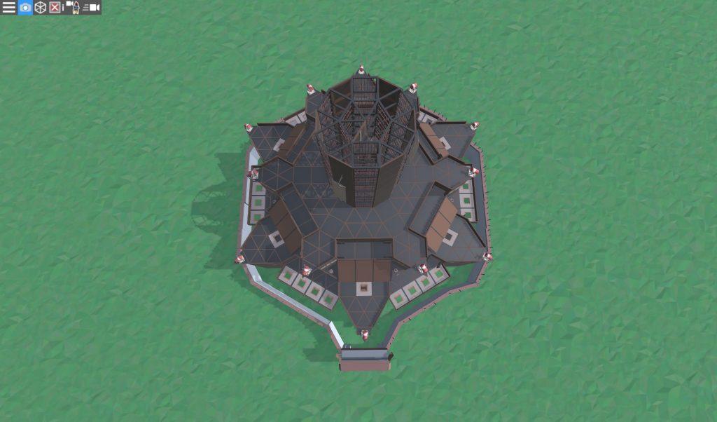 14 этаж клановой крепости