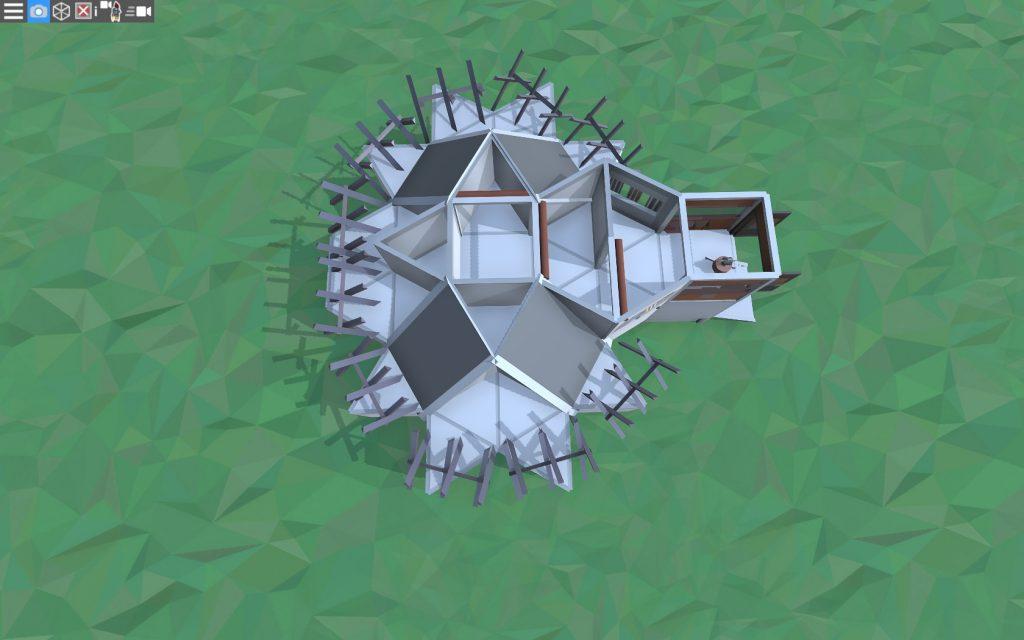 2 этаж дома для 1-2 игроков