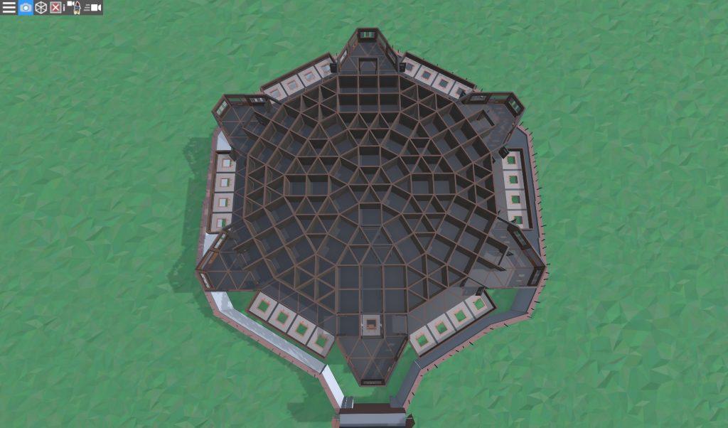 4 этаж клановой крепости