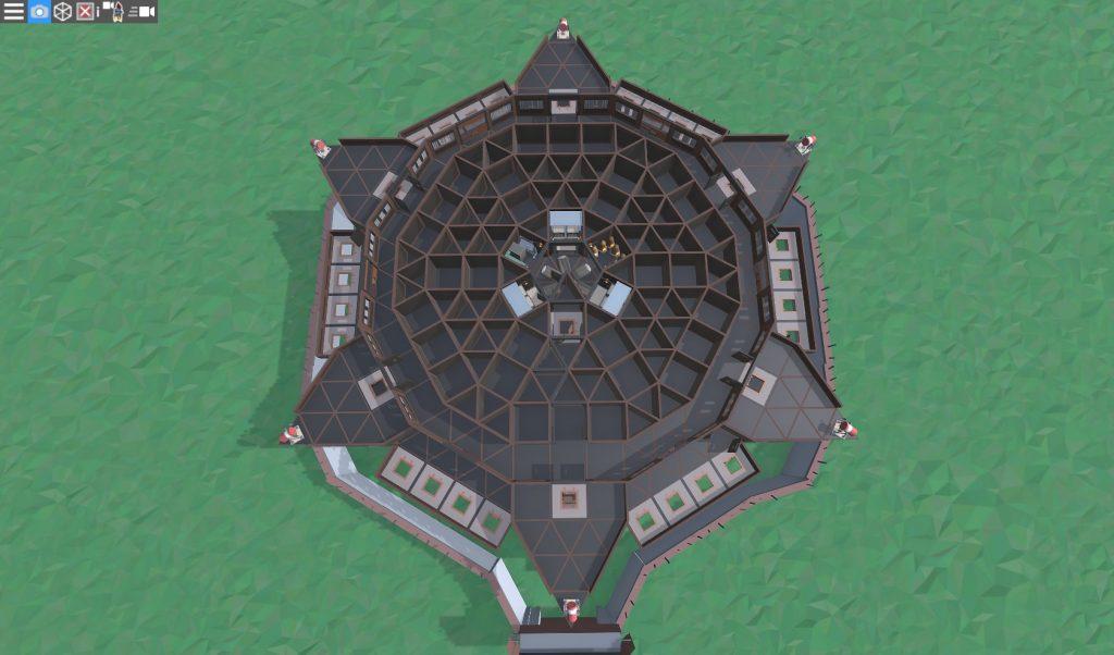5 этаж клановой крепости