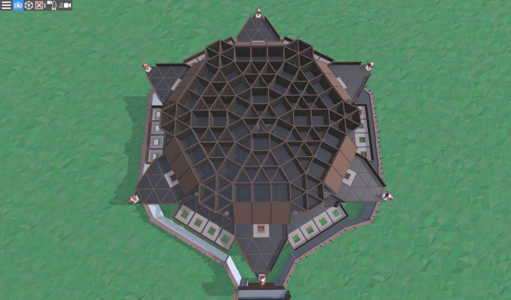 6 этаж клановой крепости