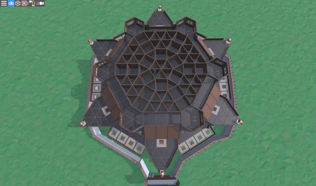 7 этаж клановой крепости