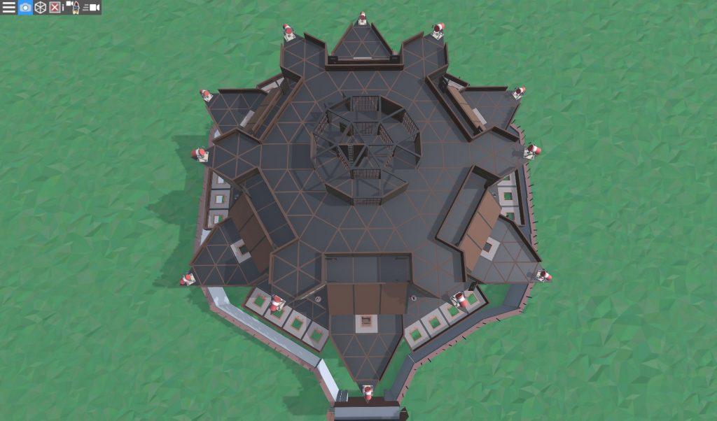 8 этаж клановой крепости