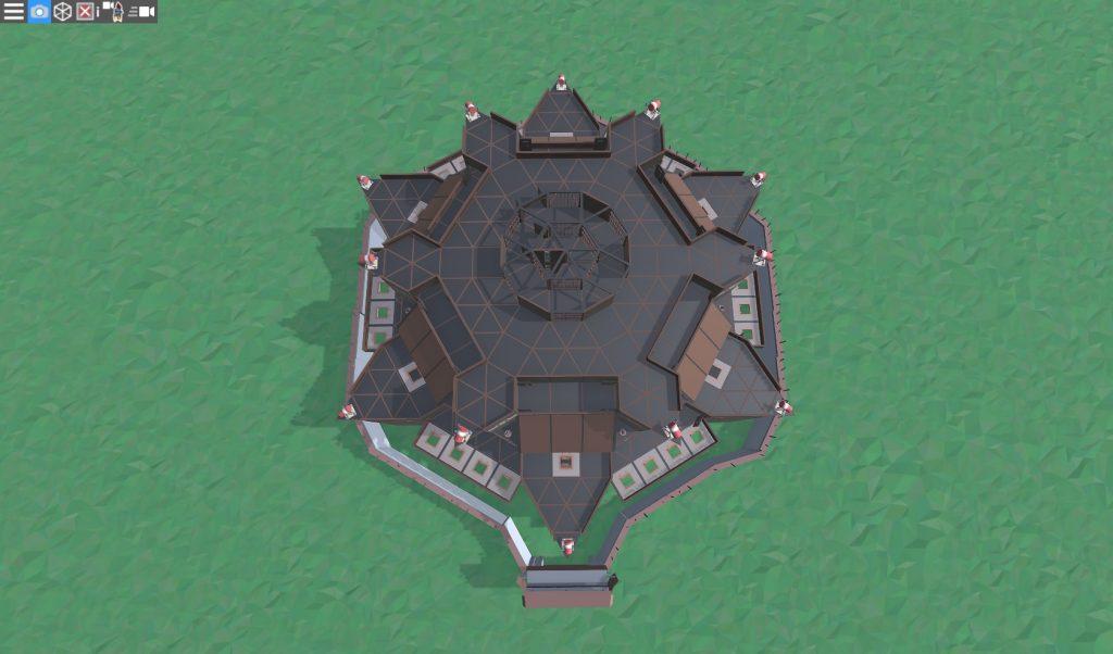 9 этаж клановой крепости