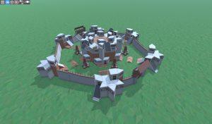 Клановая база в RUST