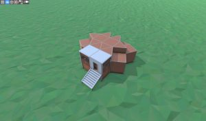 Крепкий дом с подвалом для 2 игроков в RUST