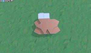 Крыша крепкого дома с подвалом для 2 игроков в RUST