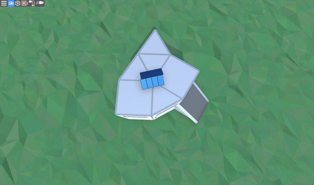 Крыша продуманного дома для соло игрока в RUST