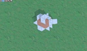 Крыша соло МВК бункера в RUST