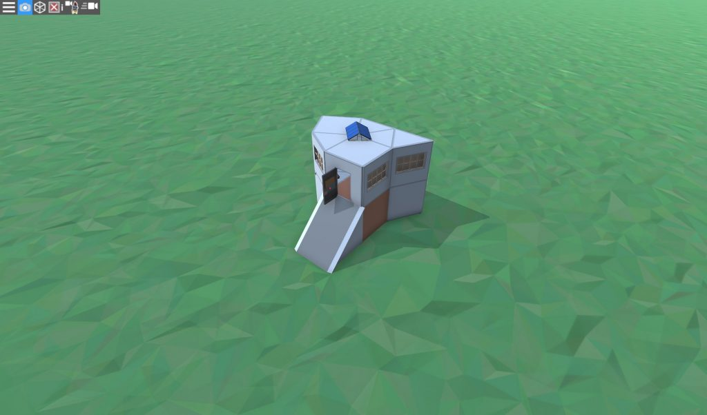 Продуманный дом для соло игрока в RUST