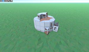 Продуманный соло дом в RUST