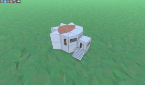 Удобный соло дом для старта в RUST