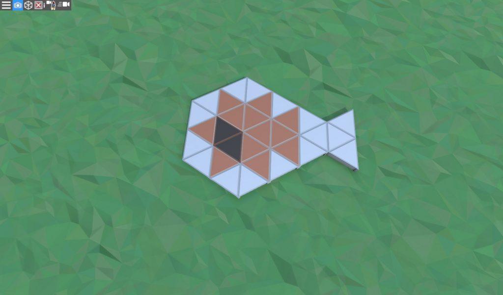 Фундамент дома соло игрока с коптерной площадкой в Rust