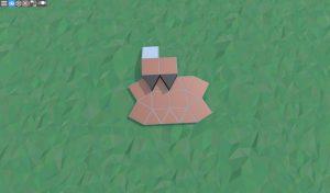 Фундамент крепкого дома с подвалом для 2 игроков в RUST
