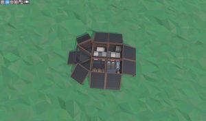 1 этаж МВК бункера для соло игрока в RUST