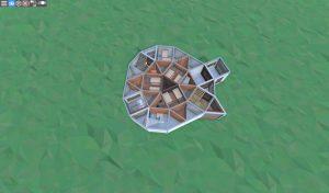 1 этаж продуманного соло дома в RUST