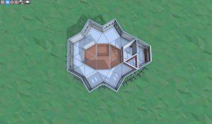 2 этаж прочной базы для соло игрока в RUST
